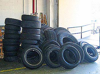Scrap Tire Removal in New England & New York | Bob's Tire Co