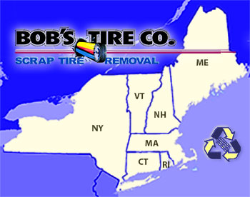 Scrap Tire Removal in New England & New York